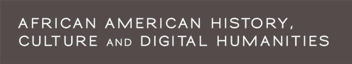 African American History, Culture & Digital Humanities Logo